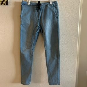Men's Streach Denim Joggers size 34